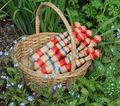 Skittles & wooden Ba