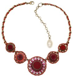 Halskette Mongolian Princess rot