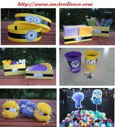 Idee per Minion Party http://www.nastrodiraso.com/wordpress/un-cattivissimo-compleanno.html
