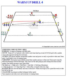 warm-up-drill-4 Soccer Training Drills, Football Drills, Soccer Coaching, Football Soccer, Weight Training Workouts, Training Tips, Fun Warm Up Games, Soccer Games, Awesome