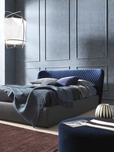 Double bed with removable cover COROLLE   Bed - @bolzanletti