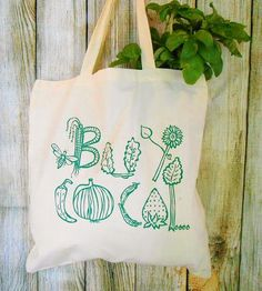 Farmers Market Tote Bag   Supporting local is our motto around here so we give this scre...   Tote Handbags