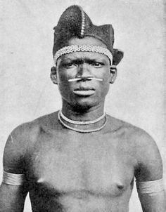 "Africa | ""Fang du Haut-Ivindo. Gabon."" (1914) | From a publication by Maurice Delafosse"