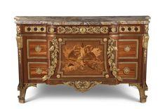 c1775-80 chests of drawers, Riesener, Jean-Henri