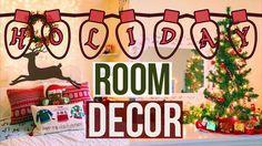 awesome HOLIDAY ROOM DECOR 2016   Pinterest/Tumblr Christmas Room Makeover!