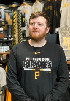 Nike Pittsburgh Pirates Black Color Bar Long Sleeve T Shirt - 17320331 Pitt Panthers, Pittsburgh Pirates, Team Logo, Long Sleeve Tees, Bar, Nike, Sweatshirts, Sleeves, T Shirt