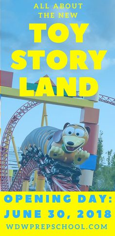 Everything we know about the brand new Toy Story Land opening June 30, 2018 at Disney's Hollywood Studios | Toy Story Land rides, dining, + more | Disney World | #disneyparks #disneyworld #toystory #toystoryland #hollywoodstudios #toystory