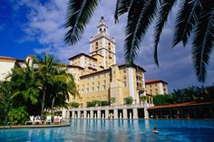 The largest hotel pool in the USA at the historic Biltmore Hotel (Coral Gables, Florida)