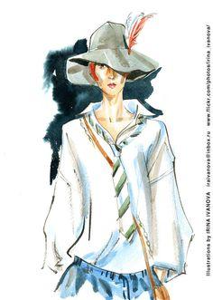 https://flic.kr/p/UhhwWE | img381 | Undercover SS2017 ready-to-wear collection.   #fashionillustration #SS2017 #readytowear #runway #Undercover #JunTakahashi #illustration #fashion #model #portrait #drawing #female #watercolor #ink #fashionshow #wear #clothes #fashionillustrator #иллюстрация #одежда #портрет #irinakamantseva #мода #одежда #artwork #artinsta #instaart #fashioninsta