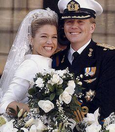 Dutch wedding of Máxima and prince Willem-Alexander.