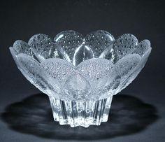 Kristallschale MEDEA Lausitzer Glas 21 cm (Goldmedaille LHM 1981) p689 18,-€