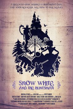 """Headline: """"Fan Made """"Snow White and the Huntsman Poster"""" (Tuesday, March 27, 2012) Image credit: by Dwayne Labuschagne (aka chronophasia on deviantArt) ♛ Once Upon A Blog... fairy tale news ♛"""