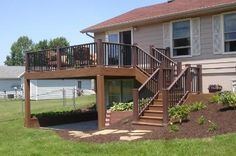 @TimberTech  Earthwood Evolutions deck with @AZEK Building Products  railing