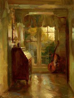 The French Window by Ignat Ignatov (Bulgarian-born)
