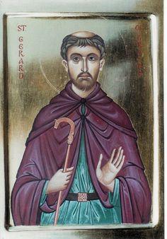 St Gerard of Brogne - Aidan Hart Sacred Icons
