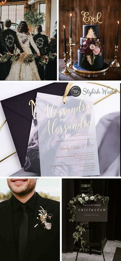 Contemporary Wedding Invitations with Photos and vellum paper make a more attractive and modern design. Spring Wedding Invitations, Affordable Wedding Invitations, Elegant Wedding Invitations, Wedding Gifts For Bridesmaids, Diy Wedding, Wedding Ideas, Wedding Ceremony, Gold Wedding Colors, Wedding Designs