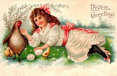 Clearly Vintage: easter