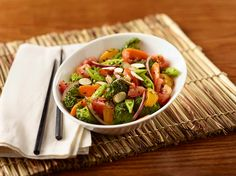 This Asian salad is a really delicious way to eat more vegetables may become your new favorite salad!