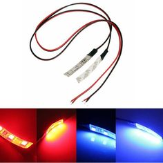 2pcs DC 12V LED 3-5050-SMD Strip Lights Lamp Motorcycle Auto Bike Lighting  Worldwide delivery. Original best quality product for 70% of it's real price. Buying this product is extra profitable, because we have good production source. 1 day products dispatch from warehouse. Fast &...