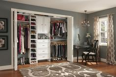 Closet Systems Home Depot | Reach-in closet with ClosetMaid Selectives, the newly revamped DIY ...