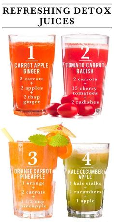 Refreshing Detox Juice Recipes