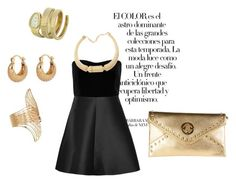 """""""Friday Night"""" by saumya-dhabalia on Polyvore featuring Arco and RED Valentino"""