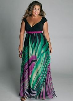 vestidos sociais plus size 4