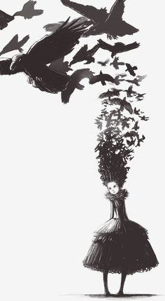 """speculativedrama:  """"and she knew she would never be lonely again."""" a feast for crows by avalantis on deviant art."""