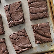 Wicked Easy Fudge Brownies (archived): King Arthur FlourThis is one of our long-time favorite fudge brownie recipes. It makes a reliably delicious, moist, fudgy pan of brownies, perfect for that potluck you forgot about till the last minute.