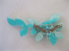 Blueberry Branch Pin By French Designer Lea Stein from froniepeachy on Ruby Lane