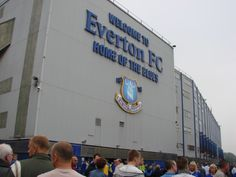 Welcome to Everton FC - Home Of The Blues, Goodison Park