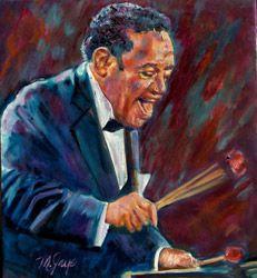 Lionel Hampton by Merryl Jaye