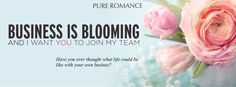 Ever thought about becoming a Pure Romance consultant?!? Business is in full bloom and wedding season is upon us. The average consultant makes about $200 for about three hours of work her first party! From more info message me and let's chat! Text: 330-519-4095 Email: PureRomancebyciaraw@gmail.com