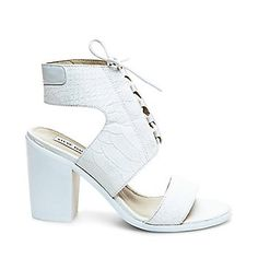 137464f049 NANNO All White Outfit, White Outfits, Steve Madden Shoes, Summer  Accessories, Lace