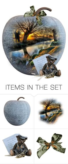 """Autumn Apple 🍏🍎"" by ragnh-mjos ❤ liked on Polyvore featuring art, apple and autumn2017"