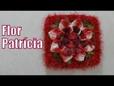 Passo a passo Flor em Crochê Patricia