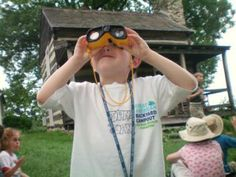 The National Wildlife foundation lists several different outdoor activities including a camera scavenger hunt and a mystery bag nature game.