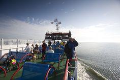 Met de veerboot naar Schiermonnikoog.