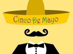 Feliz Cinco de Mayo! National Day Calendar, Logos, Happy, Cinco De Mayo, Logo