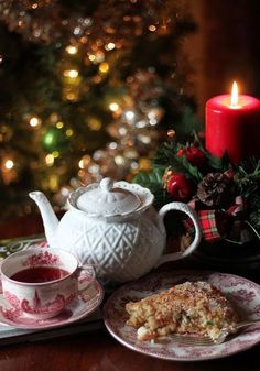 "comtesse-du-chocolat: ""Christmas tea… (source: pinterest.com) """