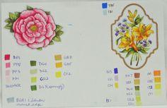 Aspiring to Creativity: Spectrum Noir Fun Class - Flowers Copic Pens, Copics, Copic Markers, Digi Stamps Free, Water Color Markers, Noir Color, Spectrum Noir Markers, Coloring Tips, Coloring Tutorial