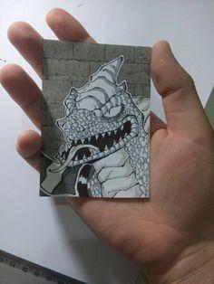Reptile MKDA, drawing on Original size