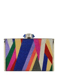 Add personality to your ensemble with the label's dazzling evening bags and…