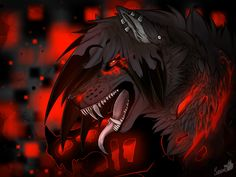 Dark wolf by Sunset Furry Wolf, Furry Art, Little Bad Wolf, Anime Wolf Drawing, Wolf Drawings, Anime Art, Wolf Deviantart, Mythical Creatures Art, Fantasy Creatures