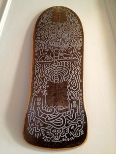 Keith Haring | Skateboard deck | Purchased from Keith Haring's Pop-Shop when I was about 15.