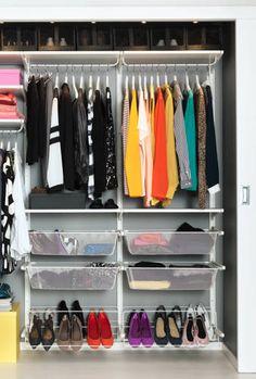 OMG I want this closet organizer