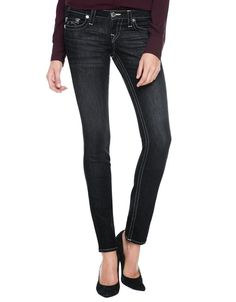 True Religion Womens Skinny Jeans Size 25 in Veiled Wilderness NWT $244.00 #TrueReligion #SlimSkinny