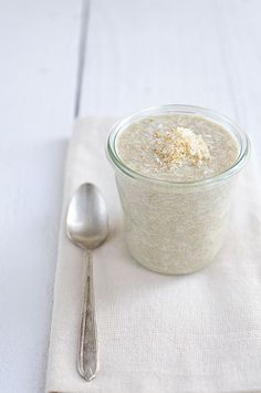 Toasted Coconut Amaranth Porridge - #dairyfree #glutenfree #recipe