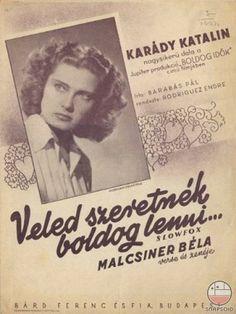 Karády Katalin Veled szeretnék boldog lenni 2017 Inspiration, The Past, Winter 2017, Books, Autumn, Dreams, Libros, Fall Season, Book