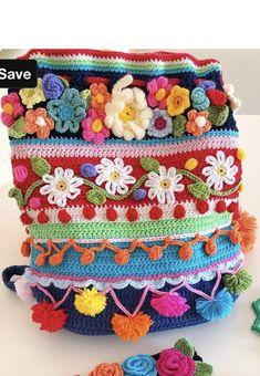 Gilet Crochet, C2c Crochet, Form Crochet, Crochet Cushions, Crochet Tote, Crochet Handbags, Crochet Purses, Crochet Stitches, Crochet Bag Tutorials